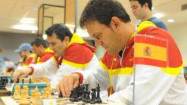 Patrocinio de dos años para la selección española de ajedrecistas ciegos