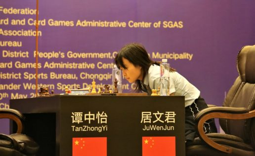 La china Wenjun Ju , nueva campeona mundial de ajedrez