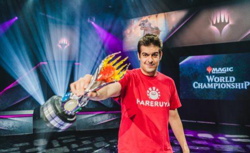El español Javier Domínguez, campeón del mundo de magic