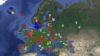 Mapa europeo del ajedrez: una idea brillante con errores de bulto