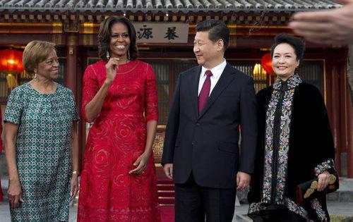 Michelle Obama: Elegancia China