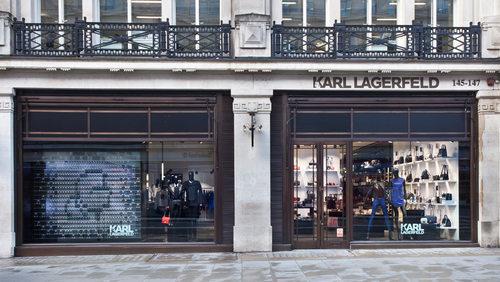 Lagerfeld inventa un nuevo tipo de tienda