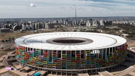 Mundial: Reciclando Campos de Fútbol