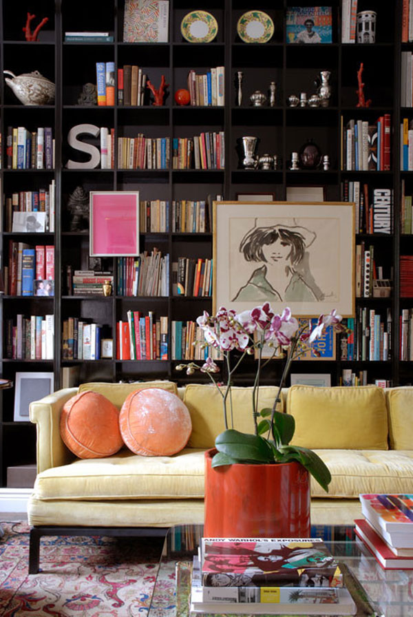 fancy-library-design-for-home