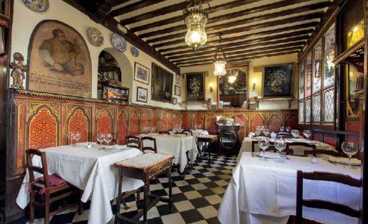 12 Restaurantes Centenarios en Madrid