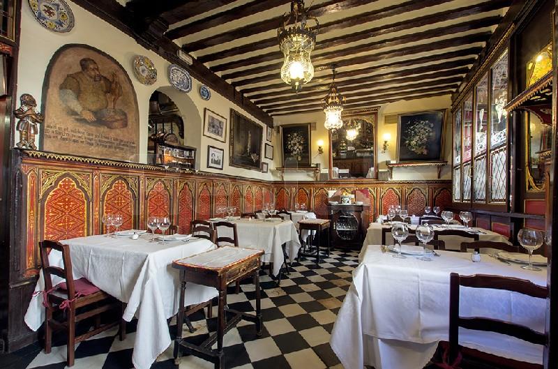 12 restaurantes centenarios en madrid laboratorio de estilo for Casa botin madrid