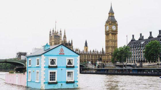Hotel flotante en Londres