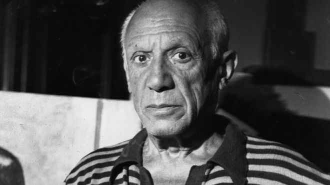 Pablo Picasso bw