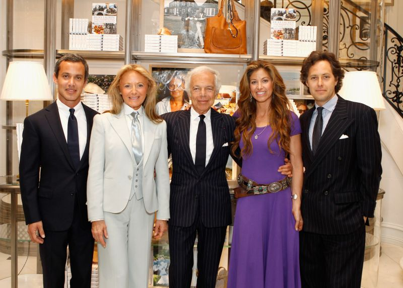 "Ralph Lauren Celebrates The Publication Of ""The Hamptons: Food, Family and History"" By Ricky Lauren"