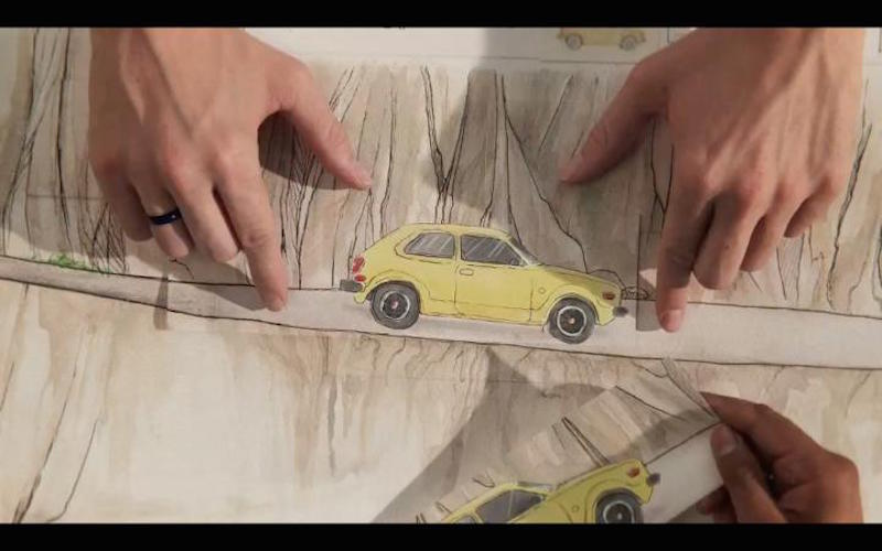 Honda-Stop-motion-Paper-Commercial-3