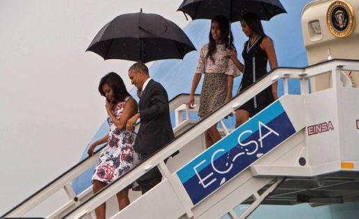 Protocolo Tropical de las Obama en Cuba
