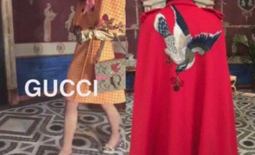 El excéntrico Gucci Pre-Fall 2016