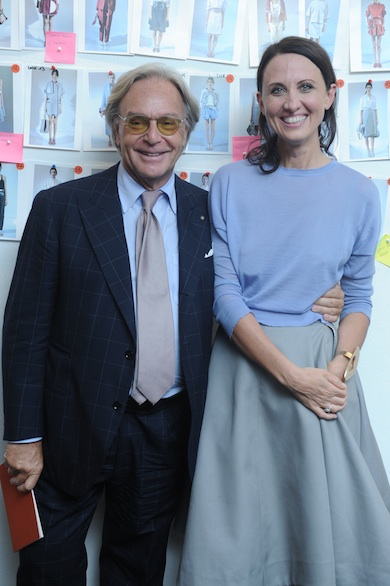 Diego-Della-Valle_-Alessandra-Facchinetti-Tods-Spring-2014-Show-Milan-Fashion-Week