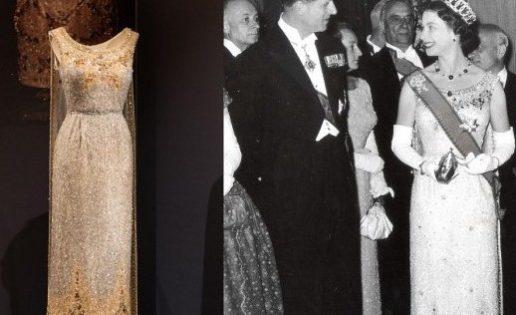 La exposición de vestidos de Isabel II