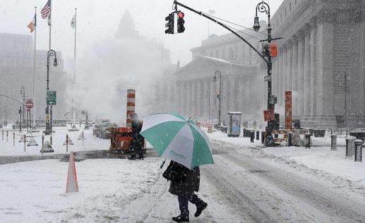 Nueva York, tormenta de nieve