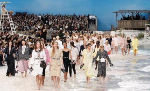 """Chanel en la """"playa"""" de París"""