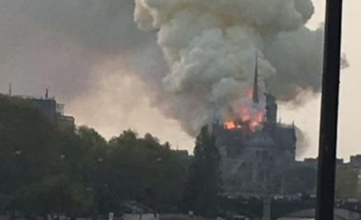 Arde Notredame