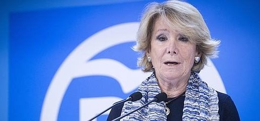 Aguirre deja con el «corazón partío» a Rajoy