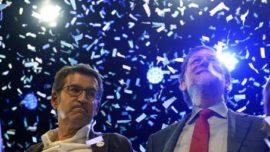 Feijóo el oxígeno de Rajoy
