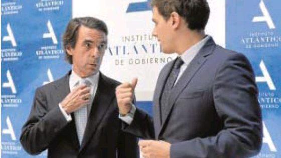 Rivera, discípulo de Aznar