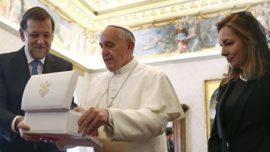 Rajoy en el Vaticano