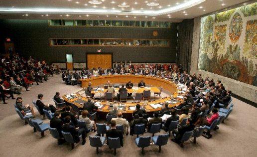 Con la vista en el Consejo de Seguridad