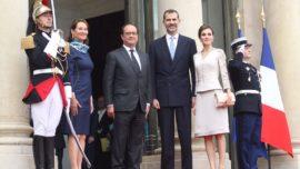 Felipe VI reina en París