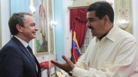 Maduro y las buenas intenciones de Zapatero