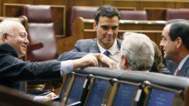 Moratinos se enfada con Pedro Sánchez