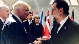 Rajoy, Cataluña y los apoyos de EE UU y de la UE