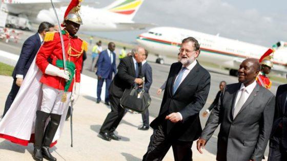 Rajoy mira al Sur