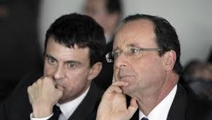 Hollande, Valls y la cruda realidad
