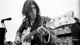 Neil Young a los 70