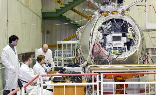 Los rusos envían un Arca de Noé al espacio