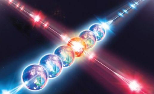 Logran entrelazar dos partículas a través del tiempo
