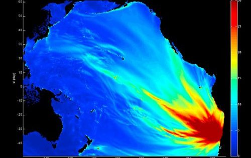 Un nuevo método para detectar tsunamis