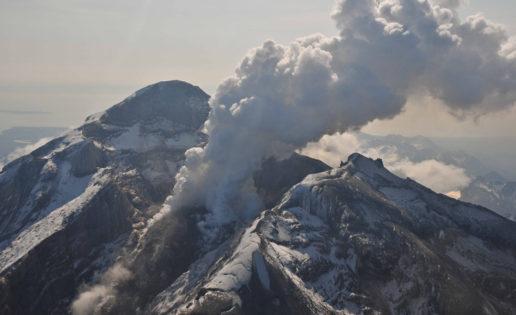 Graban los gritos de un volcán antes de la erupción