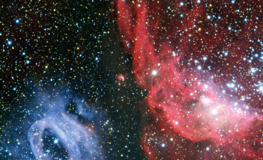Espectáculo de luz y color en la Gran Nube de Magallanes