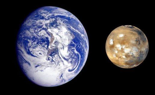 Hallan pruebas del origen marciano de la vida en la Tierra