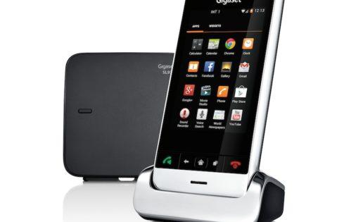 Un teléfono fijo con alma de smartphone