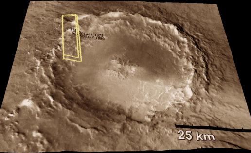¿Y si todos los meteoritos marcianos proceden del mismo cráter?