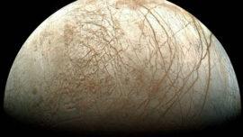 La luna Europa, cubierta de sal marina