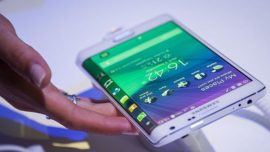 Galaxy Note Edge, un contacto con las pantallas curvadas