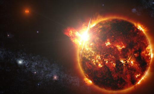 Una «superllamarada» 100.000 veces más intensa que las del Sol