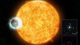 El planeta que logró envejecer a una estrella