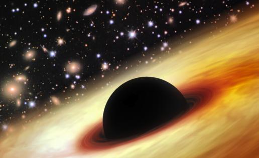 ¿Han logrado los extraterrestres construir aceleradores con agujeros negros?
