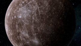 Mercurio podría ser un «planeta pintado»