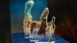 Los Pilares de la Creación, por primera vez en 3D