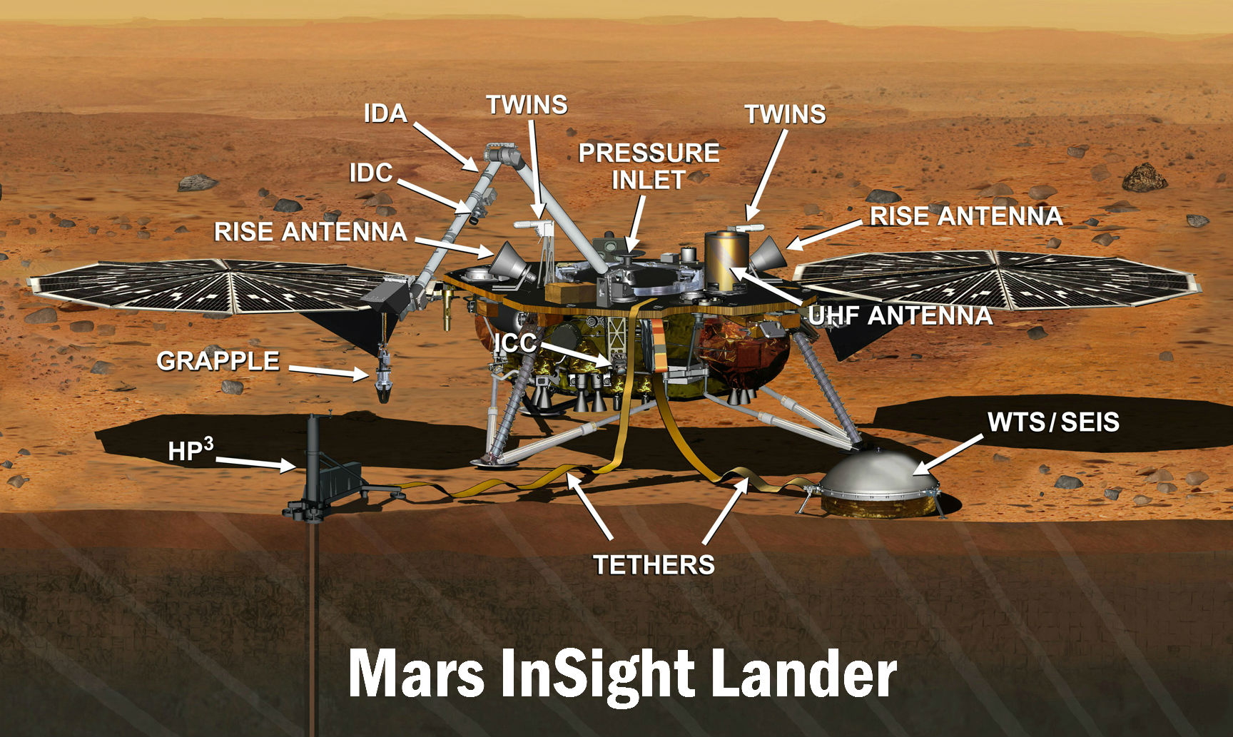 mars rover insight photos - photo #11