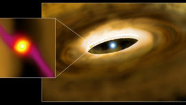 Logran, por primera vez, mirar dentro del «saco amniótico» de una estrella